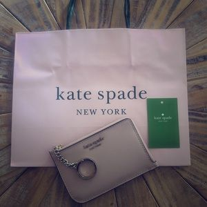 Kate spade coin mini wallet with key ring